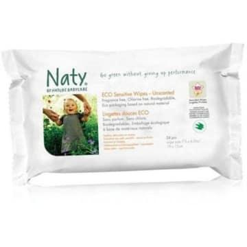 Ekologiczne chusteczki – Naty są delikatne i bezzapachowe, idealne do pielęgnacji niemowląt.