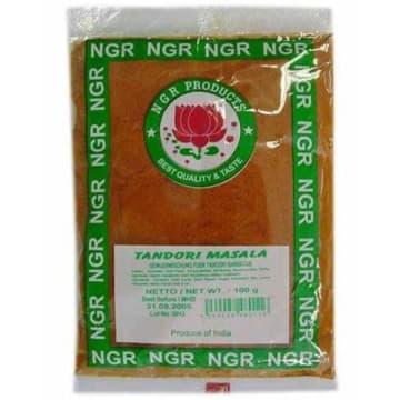 Mieszanka przypraw-NGR Tandoori Masala oparta jest wyłącznie na naturalnych składnikach.