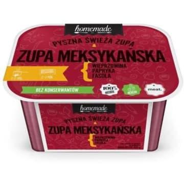 Homemade - Zupa meksykańska. Aromatyczny i sycący posiłek do błyskawicznego przygotowania.