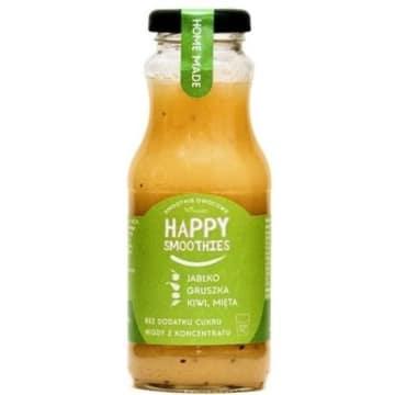 Smoothie zielony Happy Fruits, jabłko, gruszka, kiwi, mięta - Fimaro