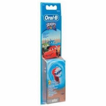 Oral-B - końcówki do szczoteczki elektrycznej, 2 szt. Są przeznaczone dla dzieci.