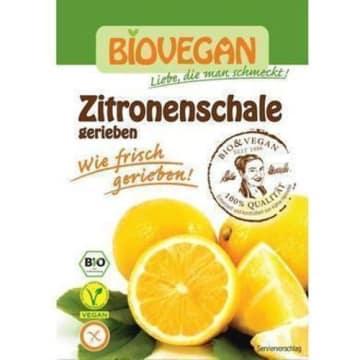 Skórka cytrynowa susona - Biovegan. Bezglutenowy dodatek do deserów.