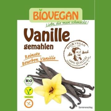 Bezglutenowa, mielona wanilia bourbon - Biovegan. Idealna przyprawa do deserów i wypieków.