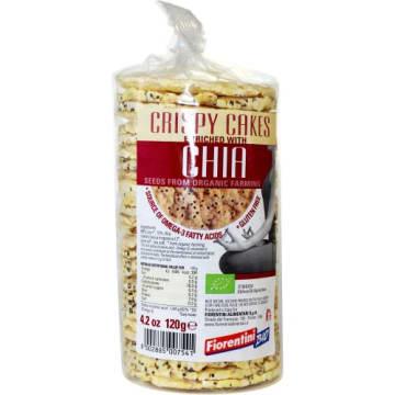 Wafle kukurydziane z chia 120g - Fiorentini