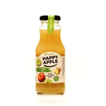 Orzeźwiający sok jabłkowo-imbirowy - Fimaro. Wykorzystuje jedynie naturalne składniki.
