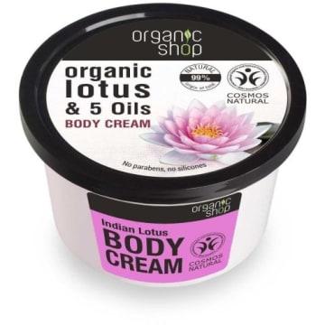 Krem do ciała - Organic Shop. Regeneruje, odżywia i odmładza skórę.