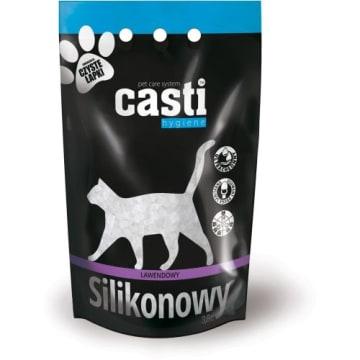 CASTI Premium Żwirek silikonowy zapach lawendowy 3.8l