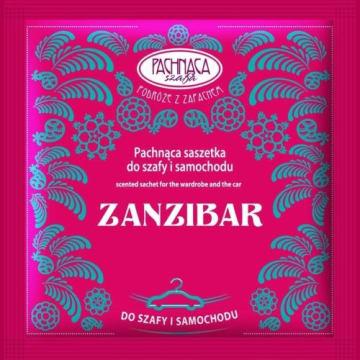 Saszetka odświeżająca Zanzibar Pachnąca Szafa 6g. Cudowny zapach Zanzibaru w domu i w samochodzie.