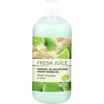 FRESH JUICE Kremowy żel pod prysznic White chocolate & Lime 500 ml