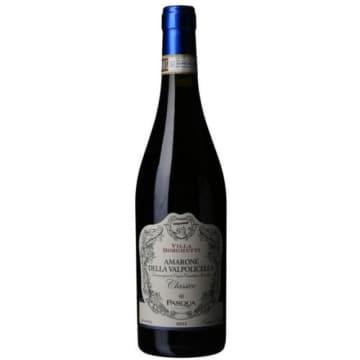 Wino Della Valpolivella Doc Classico - Amarone. Połączenie czerwonych owoców, przypraw korzennych, czekolady i wanilii.