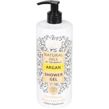 Żel pod prysznic z olejkiem arganowym - Vellie. Przywraca skórze blask i odpowiednie nawilżenie.