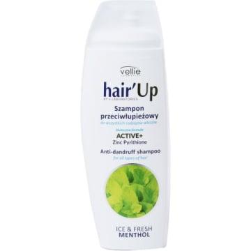VELLIE Hair Up Szampon przeciwłupieżowy Ice & Fresh Menthol 300ml