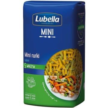 LUBELLA MINI Tubini Makaron Mini rurki 5 warzyw 400g