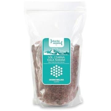 CRYSTALLINE PLANET Sól czarna namak drobno mielona 1kg