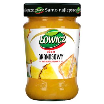 Łowicz - Dżem ananasowy. Doskonała jakość w atrakcyjnej cenie.