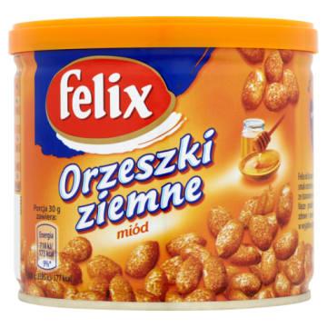 Felix - Orzeszki z miodem. Niezwykłe orzeszki smażone i oblane miodem.