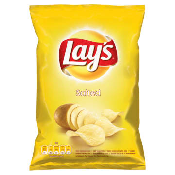 Lays - Chipsy Złociste Naturalnie Solone. Idealna przekąska na imprezę.