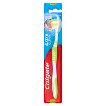 Szczoteczka do zębów - Colgate Extra Clean jest bardzo wygodna w użytkowaniu.