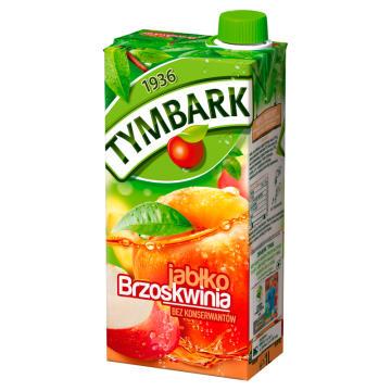 Tymbark - Napój jabłko-brzoskwinia. Orzeźwia i gasi pragnienie,