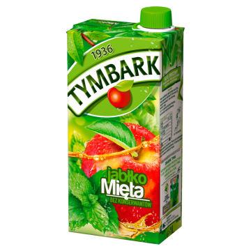 Tymbark – napój jabłkowo-miętowy. Wyprodukowany na bazie naturalnych składników.