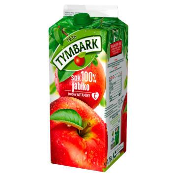 TYMBARK Sok 100% Jabłko 1750ml - zacznij dzień od szklanki rześkiego jabłkowego soku.