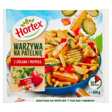 Warzywa na patelnię - Hortex. Kompozycja znakomitych i chrupiących warzyw.