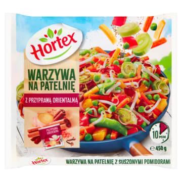 Warzywa na patelnię orientalne - Hortex pozwolą szybko przygotować danie orientalne.