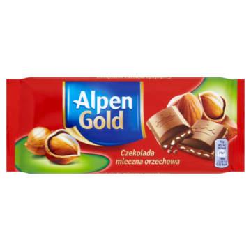 Czekolada mleczna z orzechami - Alpen Gold. Chwila słodkości każdego dnia.