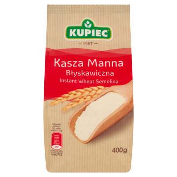 Kasza manna błyskawiczna - Kupiec