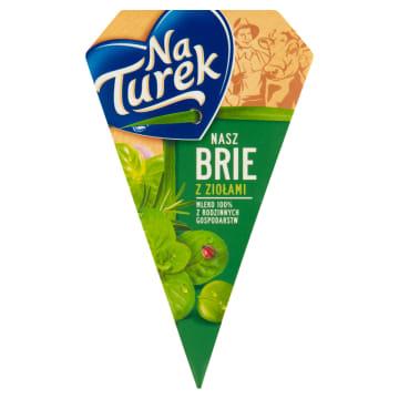 Naturek – Nasz Brie ser pleśniowy z ziołami -