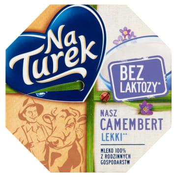 Ser pleśniowy - Nasz Camembert Naturek. Lekka przyjemność dla podniebienia.