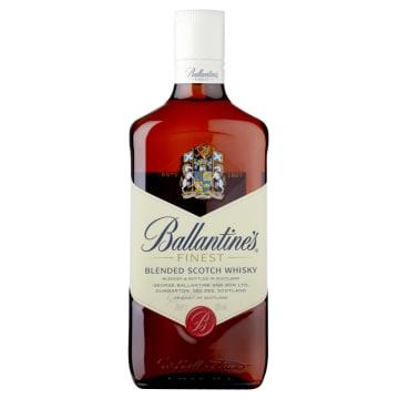 Finest Blend Szkocka Whisky - Ballantines. To wyjątkowa, mieszana whisky produkowana w Szkocji.