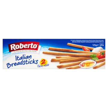 Grissini Torinesi paluszki - Roberto. Cudownie chrupki smak dla każdego.