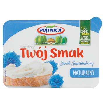 Serek naturalny - Piątnica Twój smak. Produkt o przepysznym smaku i doskonałej konsystencji.