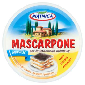 Mascarpone - serek zamiast masła - Piątnica
