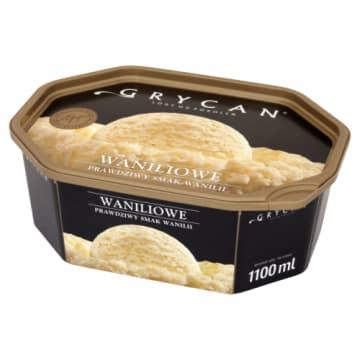 Lody Familijne Waniliowe - Grycan. Idealne dla smakoszy pysznych, zimnych lodów.