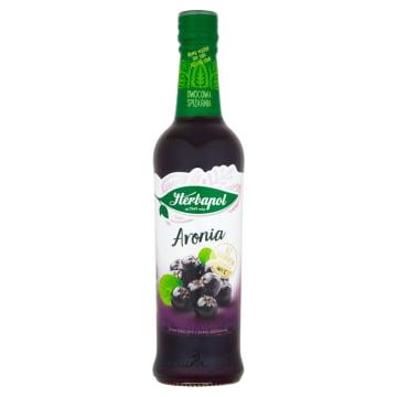 Herbapol - Syrop z aronii. Stymuluje naturalnie odporność bez konserwantów.
