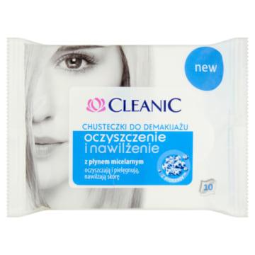 Chusteczki do demakijażu skóra normalna i mieszana - Cleanic. Pozwalają efektywnie zadbać i pielęgnować skórę.