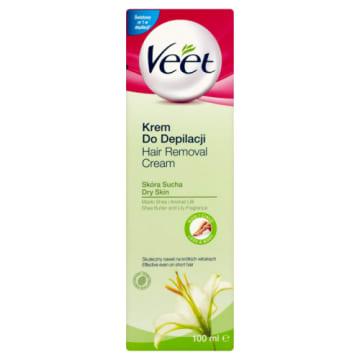 Krem do depilacji dla suchej skóry – Veet zapewni atrakcyjne i jedwabiste w dotyku ciało.