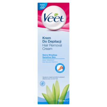 Krem do depilacji dla skóry wrażliwej – Veet to gwarancja gładkiej i nawilżonej skóry bez podrażnień.