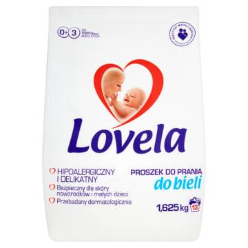 Lovela - Proszek do prania białych ubranek dziecięcych. Usuwa plamy z tkanin i chroni skórę dziecka.