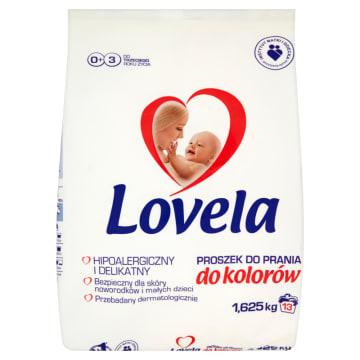Proszek do prania ubrań niemowlęcych - Lovela jest bezpieczny dla skóry i zostawia miły zapach.