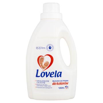 Mleczko do prania 1500 ml - Lovela. Lovela kolor to mleczko do prania ubranek niemowlaków i dzieci.