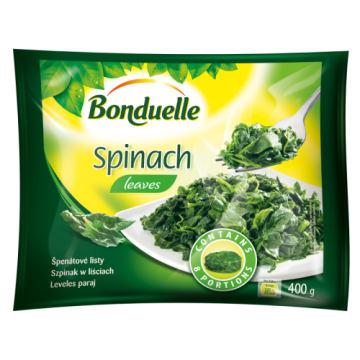 Szpinak w liściach - Bonduelle. Doskonałej jakości dodatek do wielu dań.