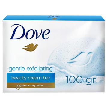 Delikatne mydło peelingujące - Dove: niebieskie granulki dla zdrowej skóry