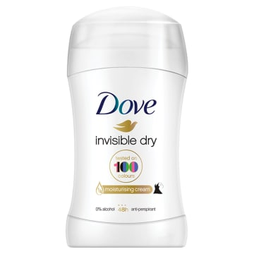 Dove – Invisible Dry Antyperspirant w sztyfcie -