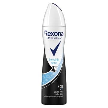 Antyperspirant w aerozolu Crystal Aqua - Rexona. Codzienna ochrona przed poceniem.
