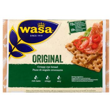 Pieczywo chrupkie – Wasa. Gruby i chrupki produkt z mąki żytniej wypiekany szwedzką tradycją.
