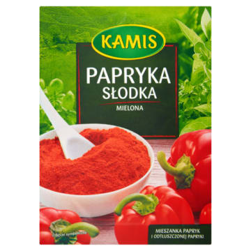 KAMIS - slodka papryka. Podkreśla smak każdej potrawy