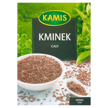Kamis - Kminek cały 15g to przyprawa, którą można dodawać do wielu potraw. Wspomaga trawienie.